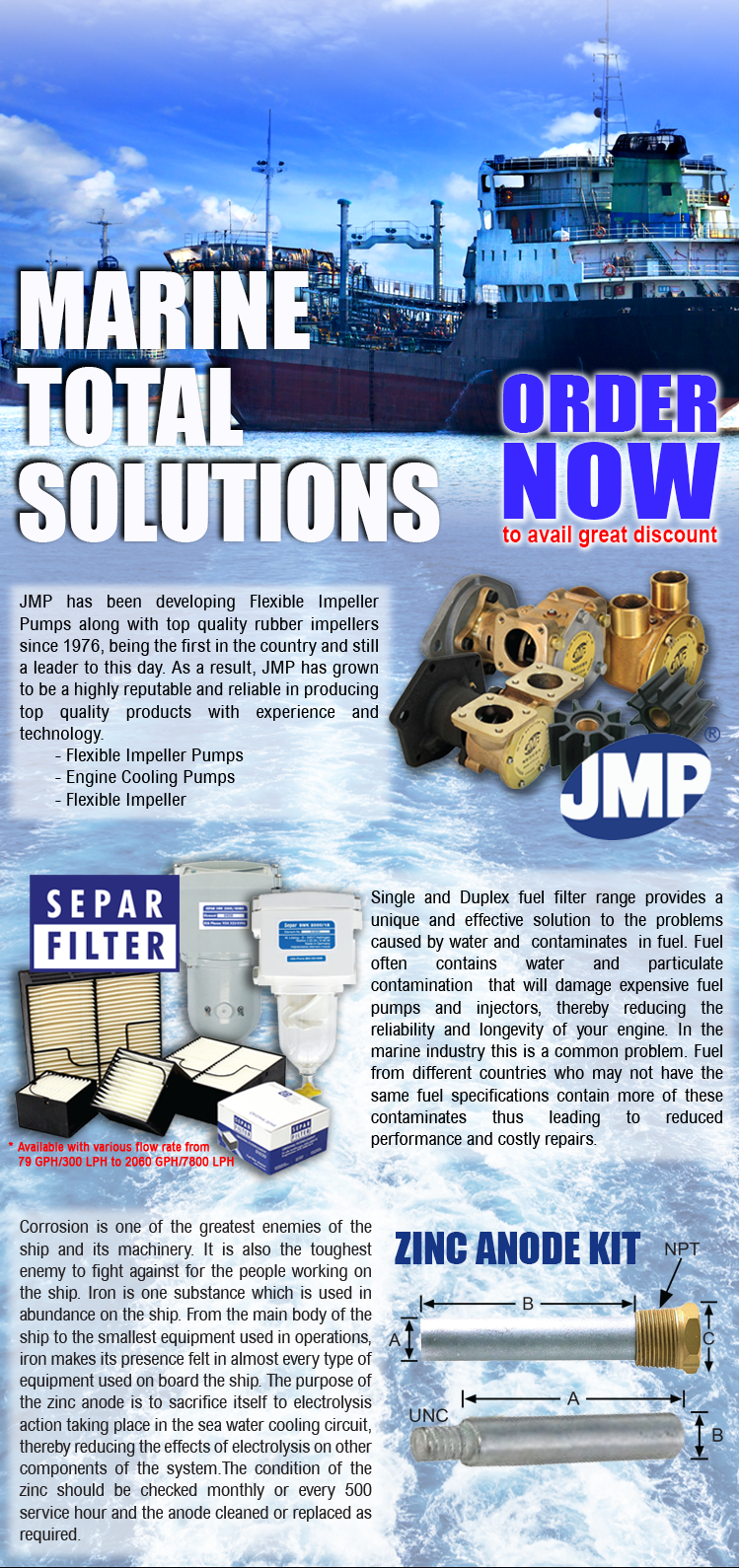Marine Total Solutions - Order Now